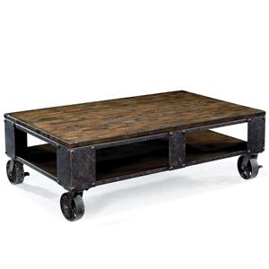 Magnussen Home Pinebrook Rectangular Cocktail Table