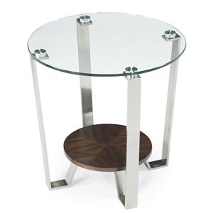 Magnussen Home Pollock Shaped End Table