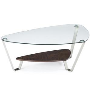 Magnussen Home Pollock Shaped Cocktail Table