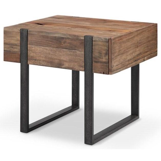 Magnussen Home Prescott T4344 Rectangular End Table - Item Number: T4344-03