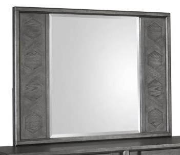Proximity Heights Bedroom Landscape Mirror by Magnussen Home at Stoney Creek Furniture