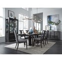 Magnussen Home Proximity Heights Formal Dining Room Group - Item Number: D4450 Dining Group 5