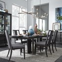 Magnussen Home Proximity Heights Table and Chair Set - Item Number: D4450-32+2xD4450-63+4D4450-62