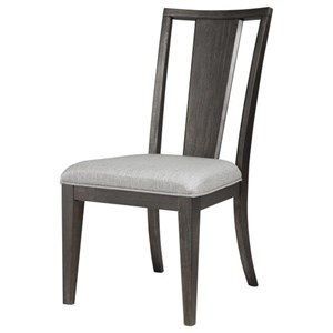 Magnussen Home Proximity Heights Dining Dining Side Chair with Upholstered Seat