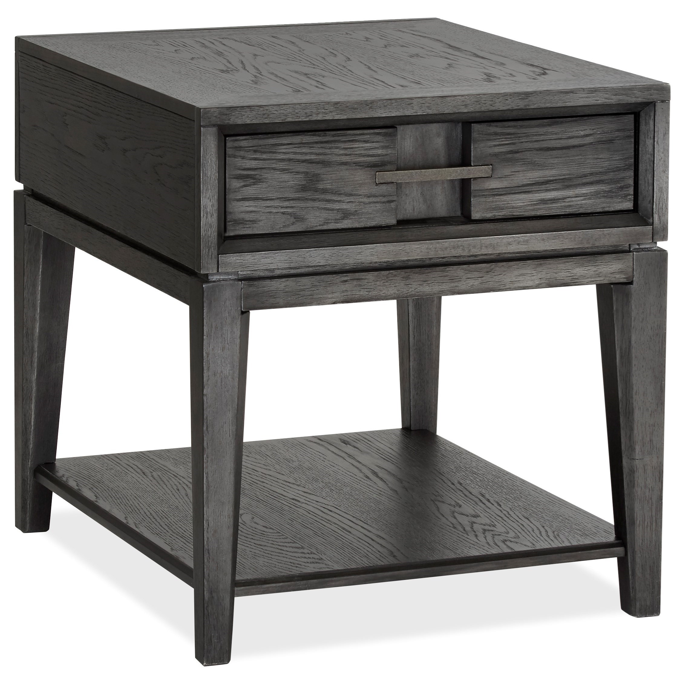 Proximity Heights Rectangular End Table by Magnussen Home at HomeWorld Furniture