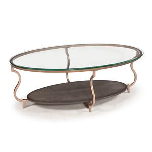 Magnussen Home Rachel Oval Cocktail Table