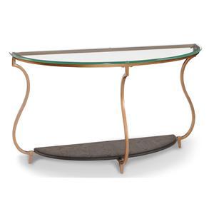 Magnussen Home Rachel Demilune Sofa Table