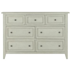 Magnussen Home Raelynn 7 Drawer Dresser