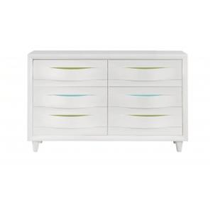 Morris Home Furnishings Rainbow City Rainbow City Dresser
