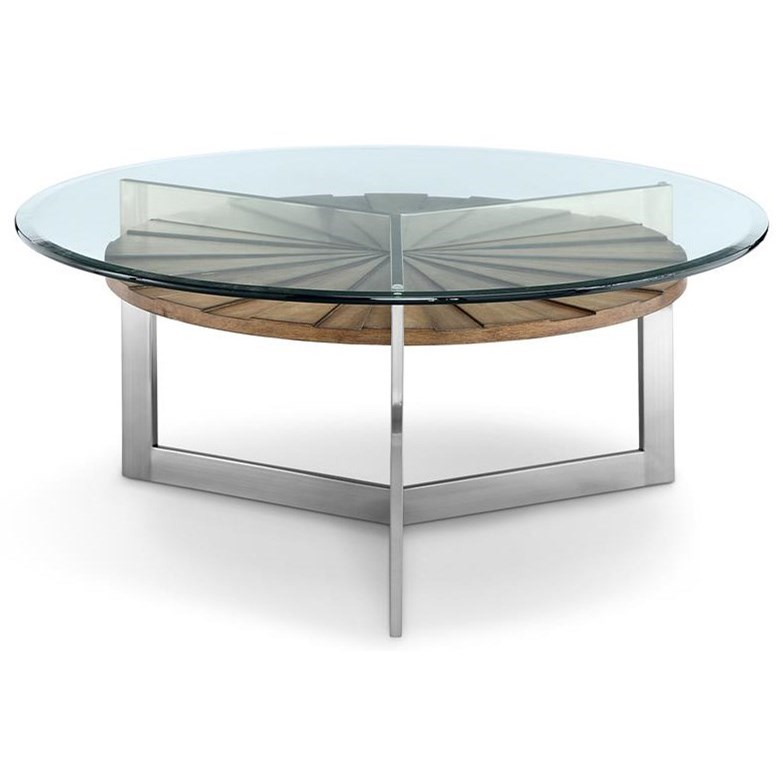 Magnussen Home Cranfill Round Cocktail Table: Magnussen Home Rialto T3805 Round Cocktail Table With
