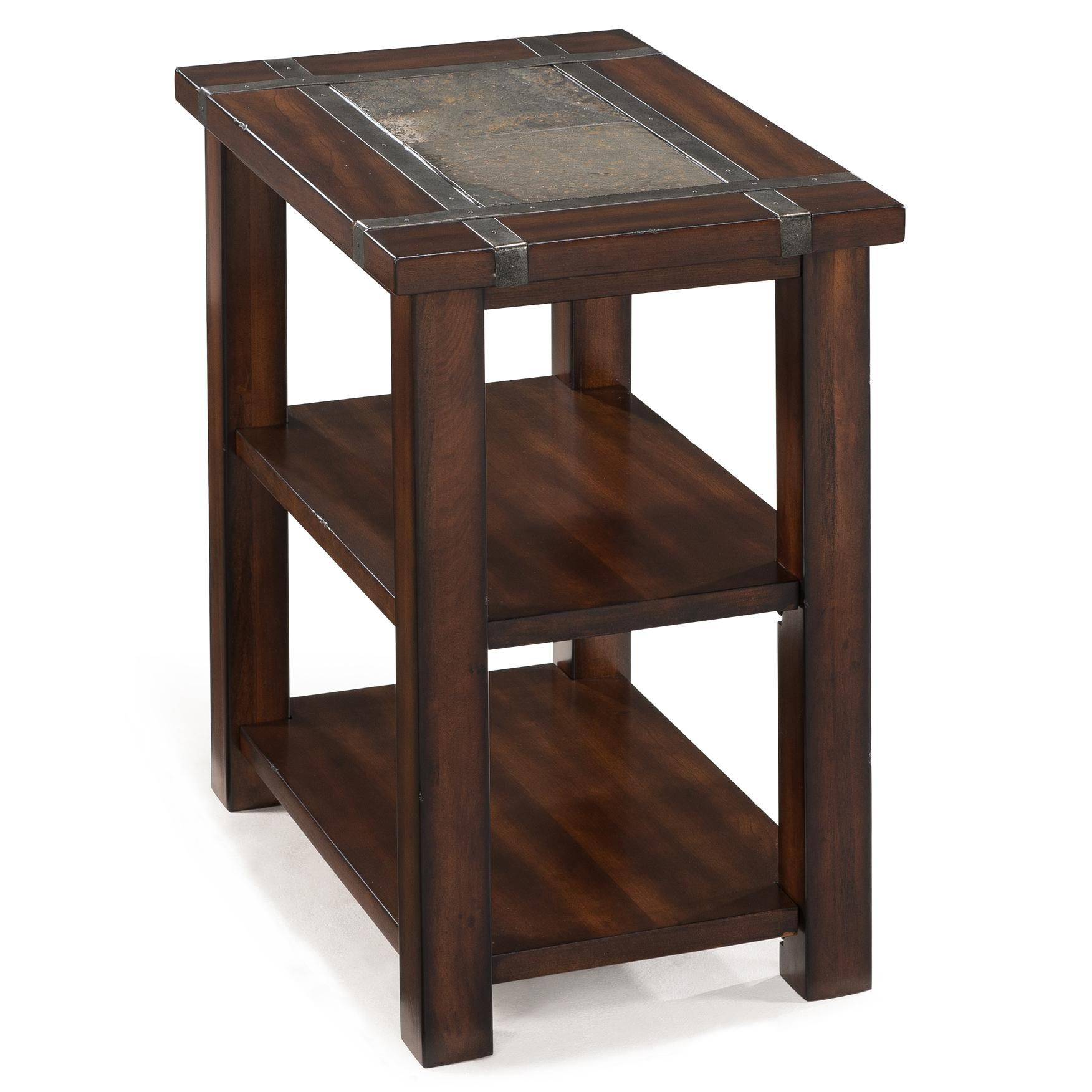 Magnussen Home Roanoke Rectangular Chairside End Table - Item Number: T2615-10