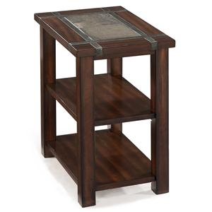 Magnussen Home Roanoke Rectangular Chairside End Table