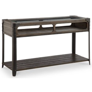 Magnussen Home Rydale Rustic Sofa Table