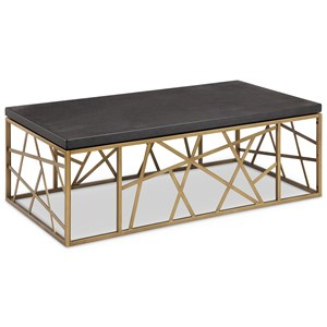 Magnussen Home Sarapa Rectangular Cocktail Table