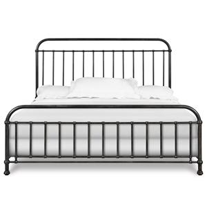 Morris Home Furnishings Shady Brook Shady Brook King Metal Bed