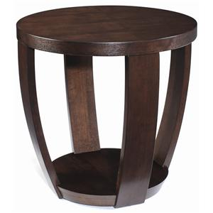 Magnussen Home Sotto Round End Table
