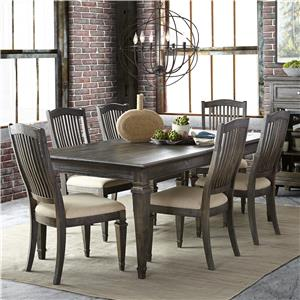 Magnussen Home Sutton Place 7 Pc Dining Set