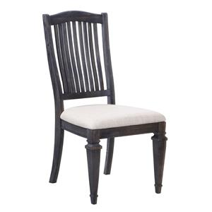 Magnussen Home Sutton Place Dining Side Chair with Upholstered Seat