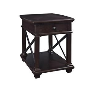 Magnussen Home Sorrento Rectangular End Table