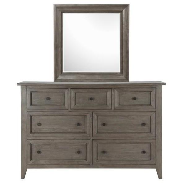 Belfort Select Talbot 7 Drawer Dresser and Mirror - Item Number: B3744-20+42