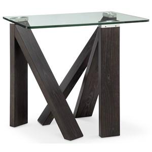 Magnussen Home Terra Alta Rectangular End Table