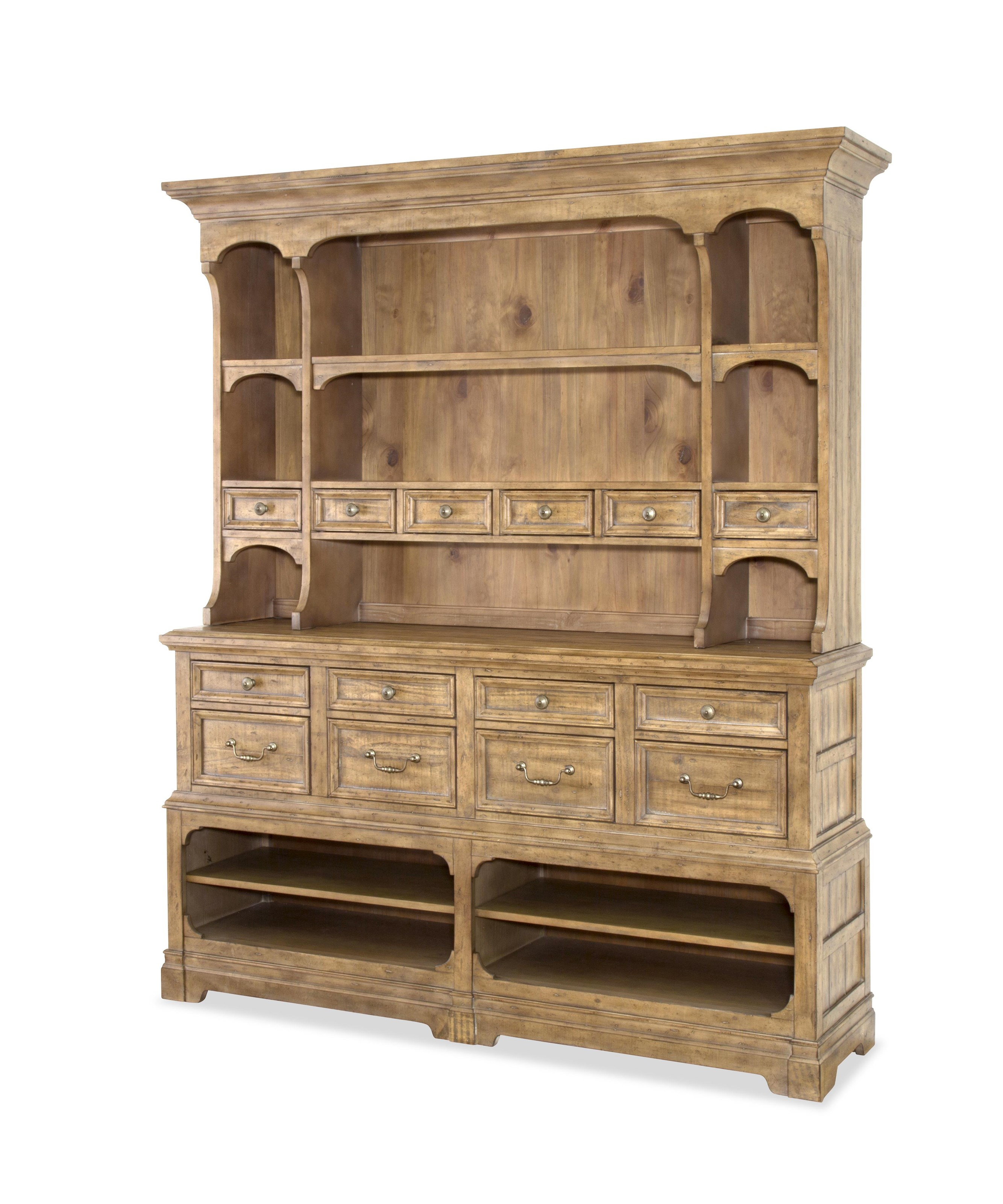 Thorndale Thorndale Sideboard with Hutch by Magnussen Home at Morris Home
