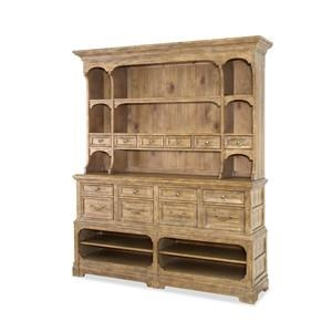 Morris Home Furnishings Thorndale Thorndale Sideboard with Hutch