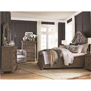 Magnussen Home Tinley Park King 5 Pc Group