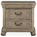Magnussen Home Tinley Park Drawer Nightstand - Item Number: B4646-01