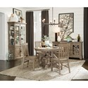 Magnussen Home Tinley Park Casual Dining Room Group - Item Number: D4646 Dining Room Group 1