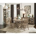 Magnussen Home Tinley Park Casual Dining Room Group - Item Number: D4646 Dining Room Group 3