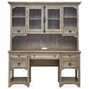Magnussen Home Tinley Park Desk and Hutch - Item Number: H4646-05T+05B