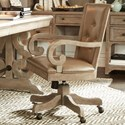 Magnussen Home Tinley Park Upholstered Swivel Chair - Item Number: H4646-83