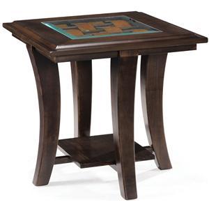 Magnussen Home Tivoli  Rectangular End Table