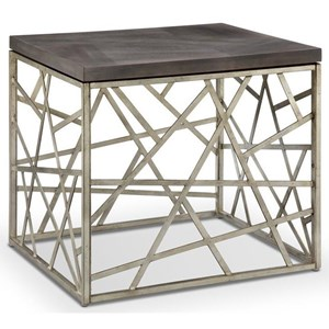 Magnussen Home Tribeca Rectangular End Table