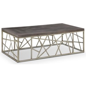 Magnussen Home Tribeca Rectangular Cocktail Table