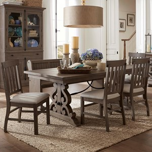 Robinson Home Collection Trinity MH Table & Chair Set with Bench