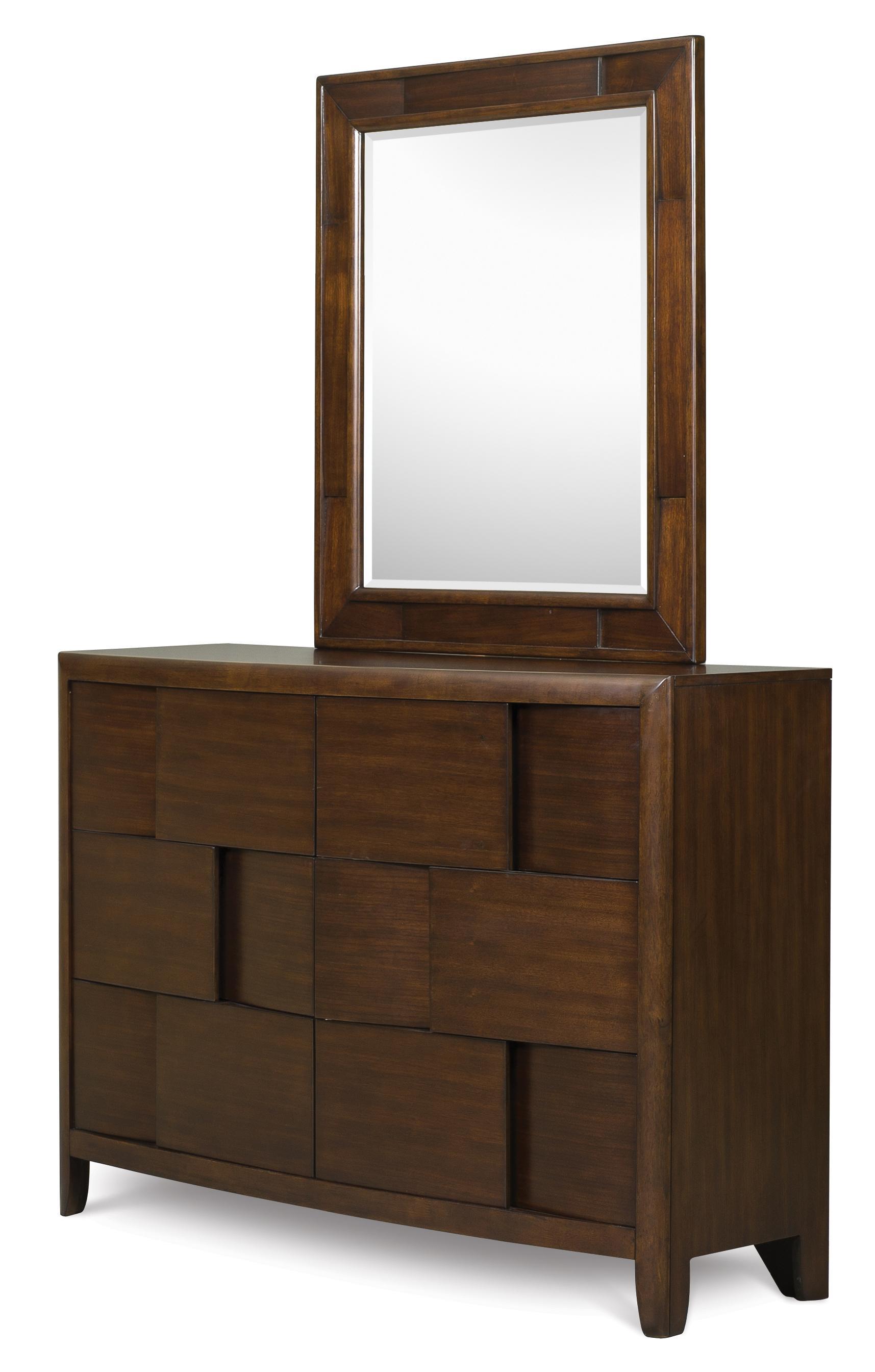 Belfort Select Youth Twilight  Drawer Dresser & Portrait Mirror - Item Number: Y1876-20/42
