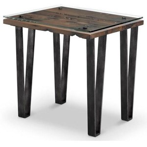 Magnussen Home Vector Rectangular End Table