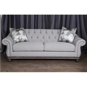 Magnussen Home Victoria Sofa - Greystone