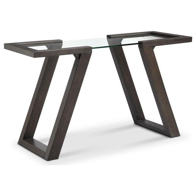 Magnussen Home Visby Contemporary Rectangular Sofa Table | Boulevard ...