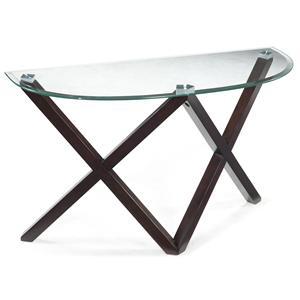 Magnussen Home Visio Demilune Sofa Table