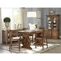 Magnussen Home Willoughby Casual Dining Room Group - Item Number: D4209 Dining Room Group 4
