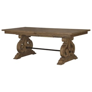 Rectangular Dining Table with Butterfly Leaves