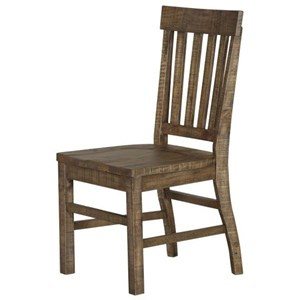 Magnussen Home Willoughby D4209 Dining Side Chair with Slat Back