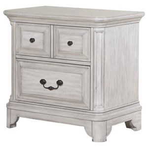 Magnussen Home Windsor Lane Drawer Nightstand