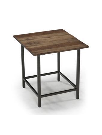 Magnussen Home Woodbridge Woodbridge Reclaimed Rectangular End Table - Item Number: T2342-03