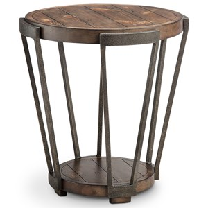 Magnussen Home Yukon Round End Table