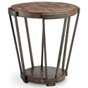 Magnussen Home Yukon Round End Table - Item Number: T4405-05