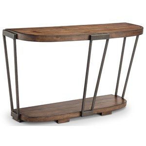 Magnussen Home Yukon Demilune Sofa Table